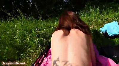 Jeny smith, Voyeur bath, Sun, Public shower, Flash public