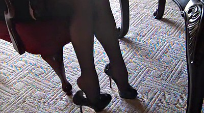 Stockings, Heels, Silk stockings, Foot stocking
