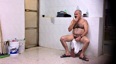 Old daddy, Bathroom, Big daddy, Public naked, Old daddy gay, Hairy daddy