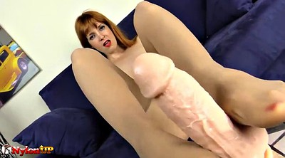 Pantyhose feet, Wear, Pantyhose footjob
