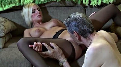 Grandpa, Fetish, Granny's, Blonde mature