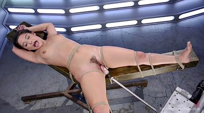 Hairy solo, Machine sex, Pounding