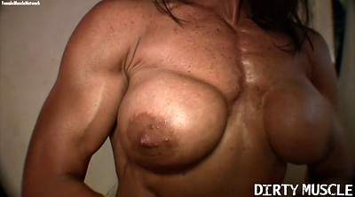 Fbb, Muscle, Huge dildo