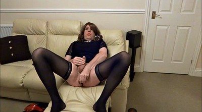 Crossdresser, Crossdress, Butt plug, Alison
