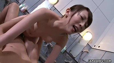 Ride, Bathroom, Japanese hairy, Japanese fuck, Japanese tits, Japanese shower