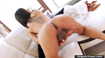 Big boobs, Asian shemale solo, Shemale handjob
