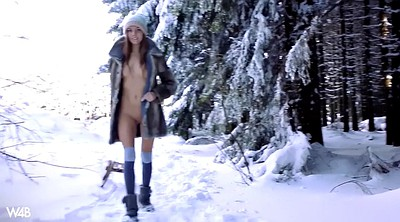 Walking, Russian, Outdoor orgasm
