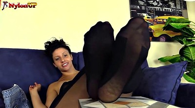Italian, Nylon, Nylon foot, Nylon fetish