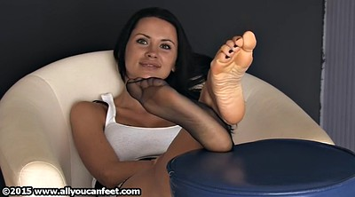 Feet, Nylon foot, Nylon feet