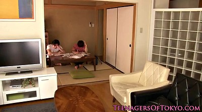 Japanese lingerie, Teen pigtails, Japanese group sex