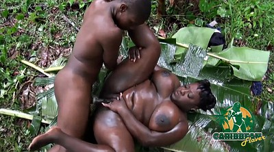 Mature blowjob, Chocolate, Forest