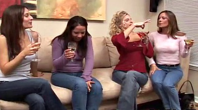 Foursome, Take off, Clothed lesbians, Clothed