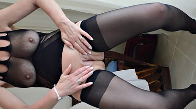 Hot wife, Stockings wife