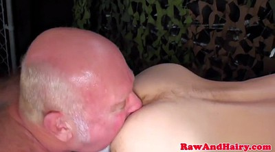 Nipple piercing, Cum in mouth, Bears, Asslicking