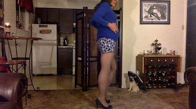 Cd, Blue, Skirt, Pantyhose gay, Mini skirt, Gay pantyhose