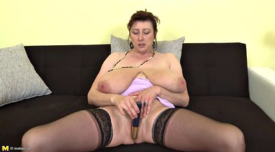 Amateur mature, Big tits mom