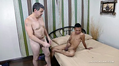 Asian gay, Screaming, Asian dad
