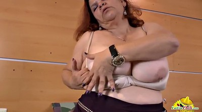 Chubby solo, Granny solo, Seduction, Solo mature
