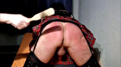 Crossdresser, Spanking punishment, Crossdressing