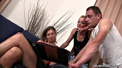 Old and young, Milf mom, Moms boyfriend, Old mom, Watching mom, Watched