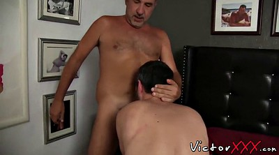 Old daddy, Old guy, Hairy cock