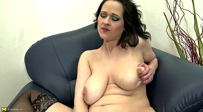 Natural tits, Busty mom, Moms pussy