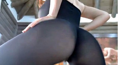 Spandex, Squirting pussy
