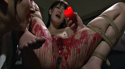 Wax, Japanese bdsm, Pussy, Waxing