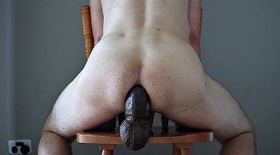 Gape, Dildo ride, Gay black