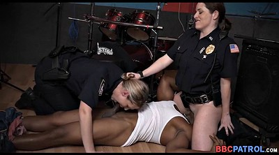 Black milf, Cops