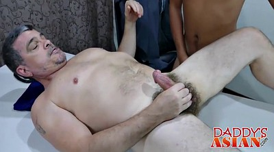 Boss, Daddy gay, Asian office, Asian daddy