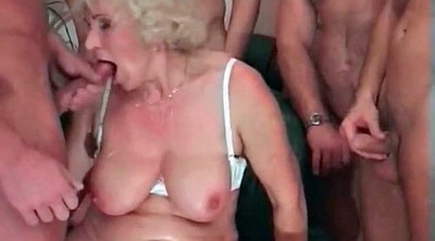Gangbang, Homemade cuckold, Wife gangbang, Group sex, Granny swinger