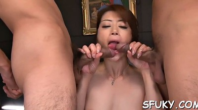 Japanese blowjob, Asian peeing