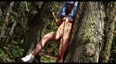 Czech, Erotic, Forest, Alexis crystal, Crystal