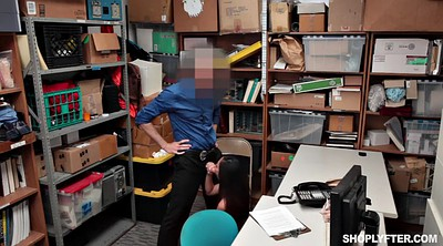 Asian office, Asian tits, Policeman, Desk