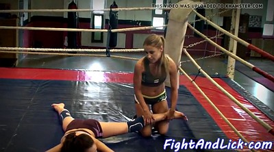Fight, Lesbian fight, Wrestling, Boxing, Cat, Rings