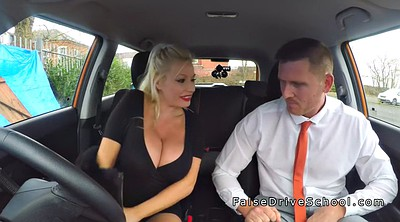 Huge tits, Huge boobs, Driving, Big boobs public
