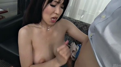 Yui, Japanese big tits, Japanese handjob, Hot asian