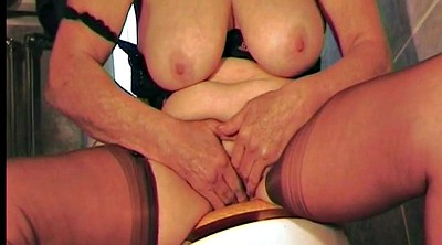 Dirty talk, British, Granny bdsm, Hairy mother