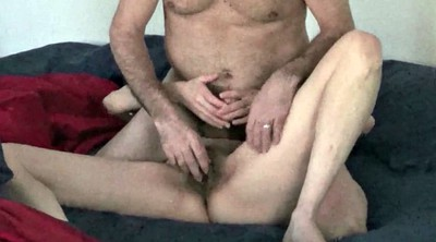 Older, Amateur orgasm, Mature couple, Hairy mature