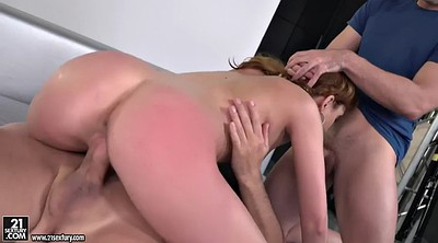 Double anal, Spank fuck, Connie, Spanking anal, Russian spanking