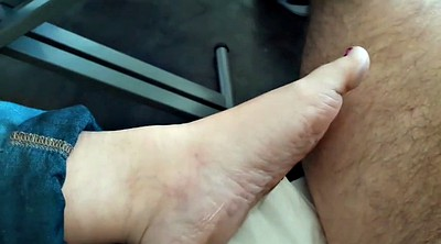 Foot job, Bbw feet, Bbw wife