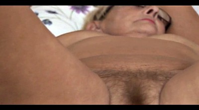 Mature lady, Hairy mature