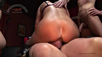 Patty, Creampie gangbang, Sandra, German creampie