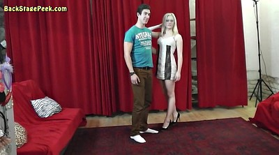 Behind the scenes, Photoshoot, Czech couples, Czech couple, Couple seduces teen