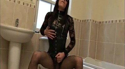 Crossdresser, Crossdress, Latex shemale
