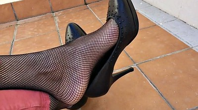 Home, Nylon feet, Shoeplay, Nylon foot, Feet fetish, Nylons foot