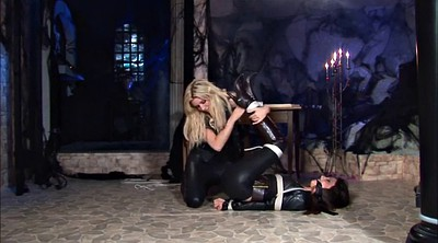 Rope, Lesbian bdsm, Leather, Bound, Roped