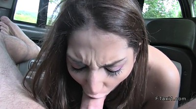 Car, Taxi stockings, Red stocking, In throat