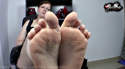 Foot femdom, Feet worship, German foot